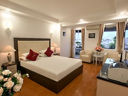 VIP Double Room, Terrace, Top Floor, City View