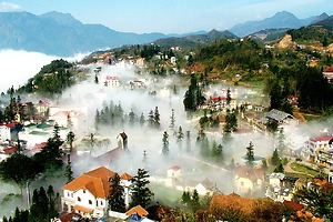 Sapa 2 days 1 night homestay by bus
